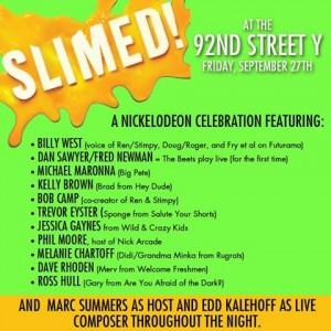 Slimed! 92Y