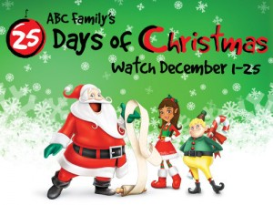 photograph regarding Abc Family 25 Days of Christmas Printable Schedule named ABC Familys 2013 25 Times of Xmas Lineup - Pop Town Lifestyle
