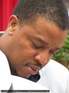 Russell Hornsby at the Monte-carlo TV festival - June 2013