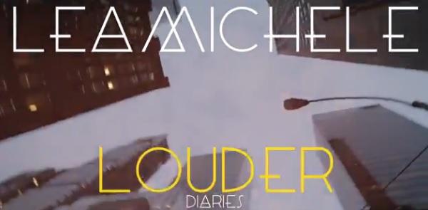 Lea Michele Louder Diaries