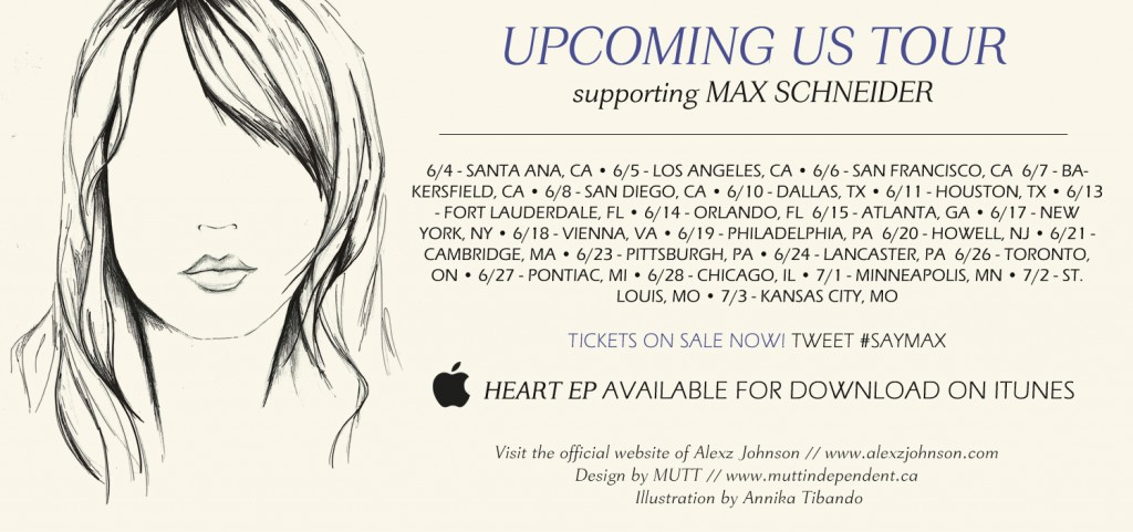 Alexz Johnson Tour