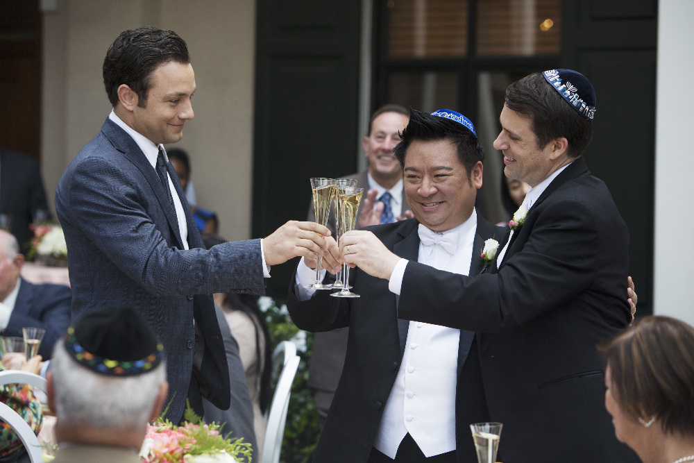 Rex Lee's character Elliot Park ties the knot on Young & Hungry