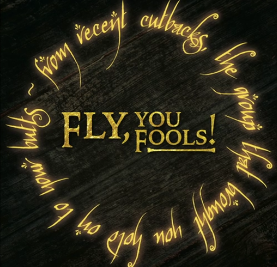 Recent Cutbacks Presents Fly, You Fools