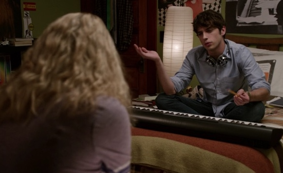 Brandon doesn't know in The Fosters 1x01