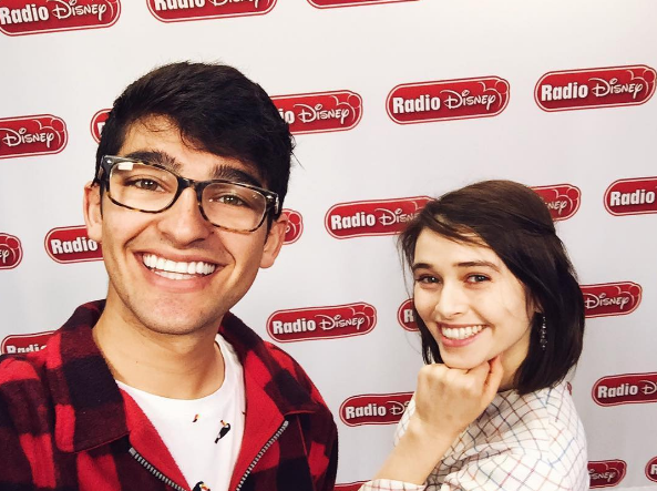 Madeleine Coghlan at Radio Disney