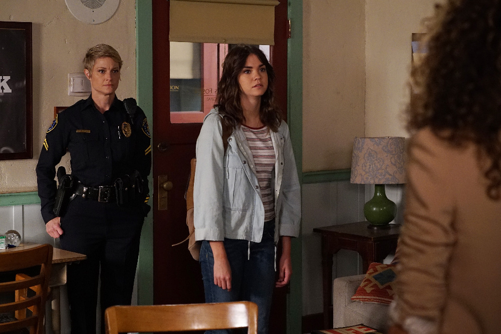 Callie, Stef and Lena in The Fosters 4x03