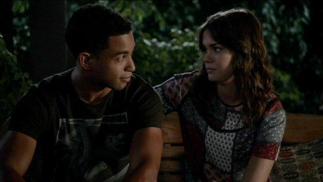 Callie and AJ in The Fosters 4x04
