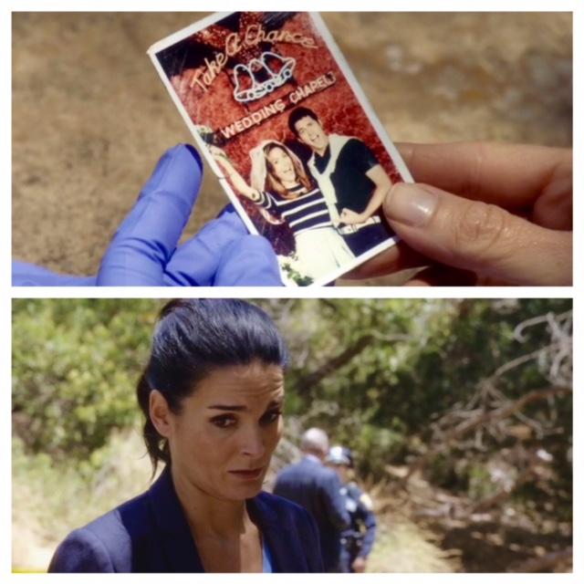Jane reacts to Maura's wedding photo in Rizzoli & Isles 7x10