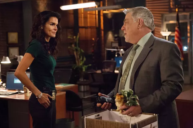 Bruce McGill and Angie Harmon in the Rizzoli & Isles finale