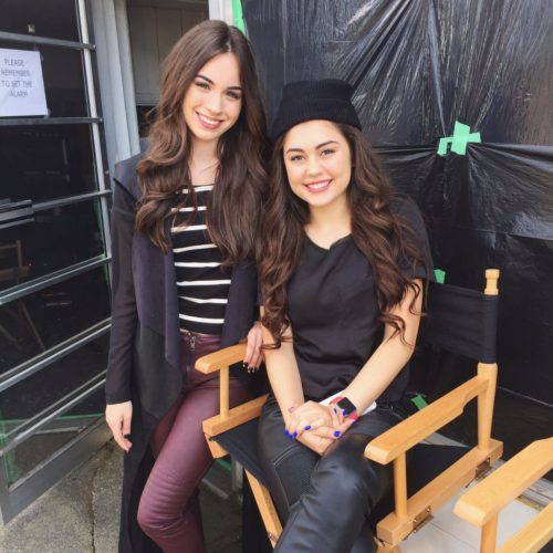Sarah Desjardins and Mika Abdalla from Project Mc2