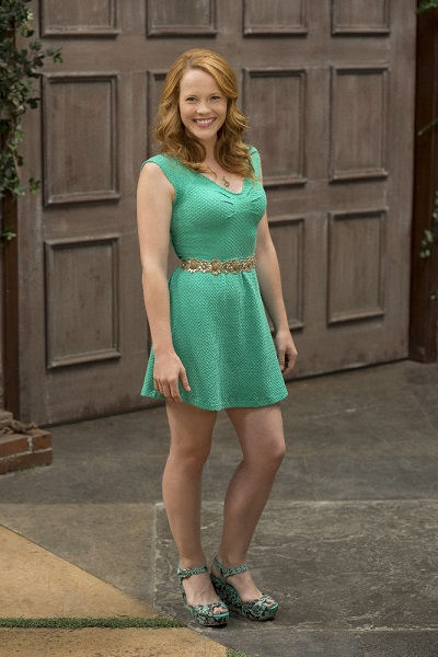 Katie Leclerc as Daphne Vasquez in Switched at Birth