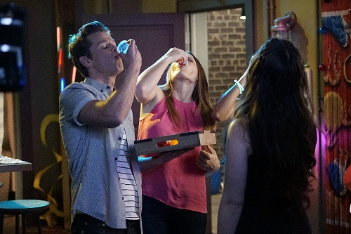Travis, Daphne and Bay in Switched at Birth 5x08