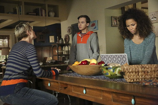 Jude, Stef, Lena in The Fosters 4x16