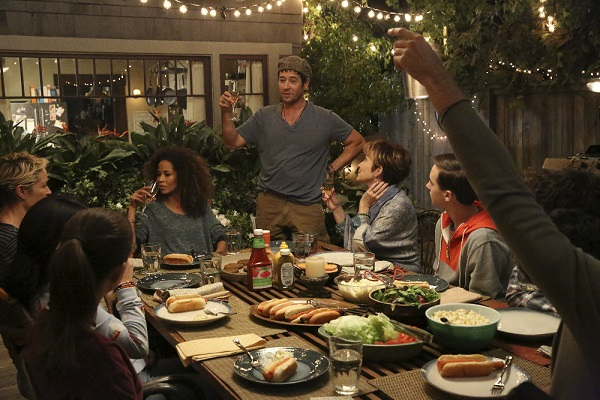 Will gives a toast in The Fosters 4x16