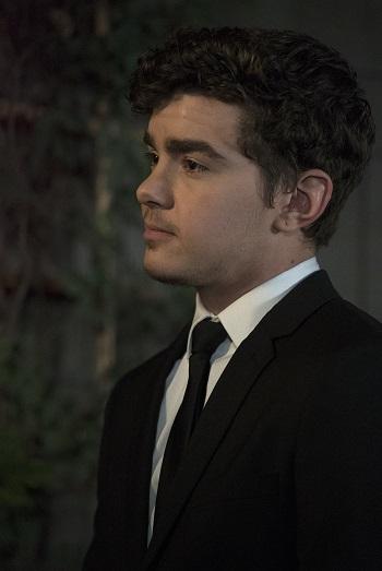 Elliot Fletcher plays transgender character Aaron in The Fosters
