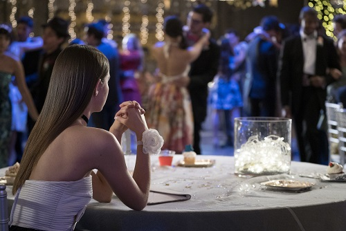 "Maia Mitchell in The Fosters 5x09, ""Prom"""