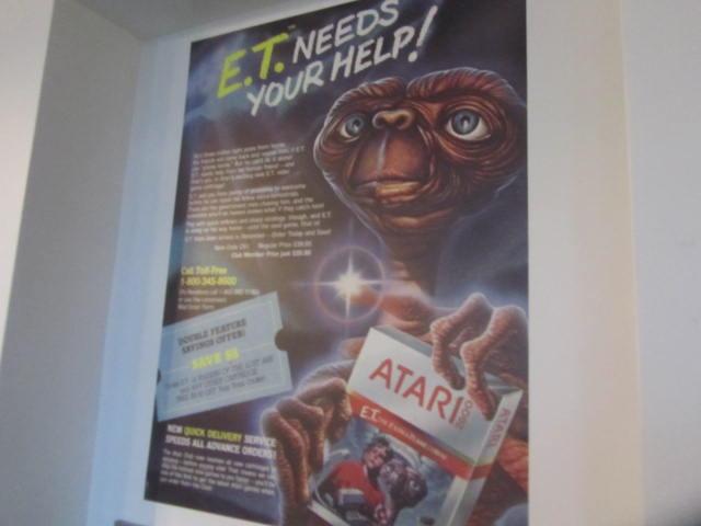 Retro Video Game Exhibit