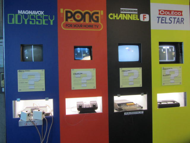 Retro Video Game Exhibit