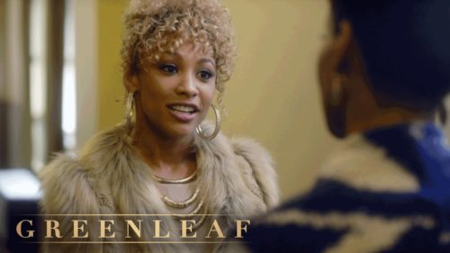 Asia'h Epperson as Tasha Skanks in Greenleaf