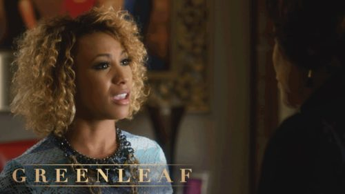 Asia'h Epperson on Greenleaf