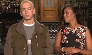 Kerry Washington Eminem SNL
