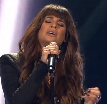 Lea Michele X Factor