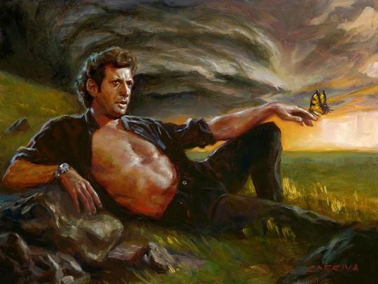 Ian Malcolm Painting