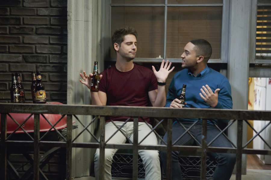Jean-Luc Bilodeau and Tahj Mowry
