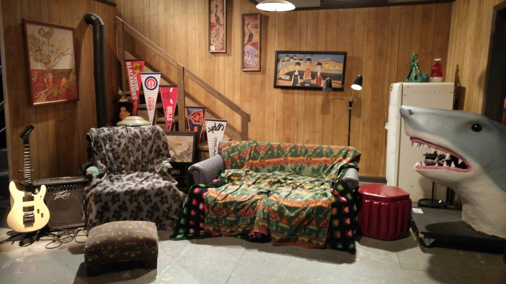 Wayne's World Couch at Saturday Night Live: The Exhibition