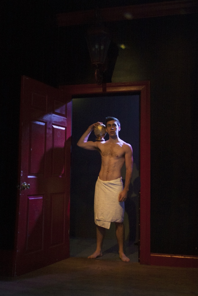 Evan Maltby as Cedric Diggory