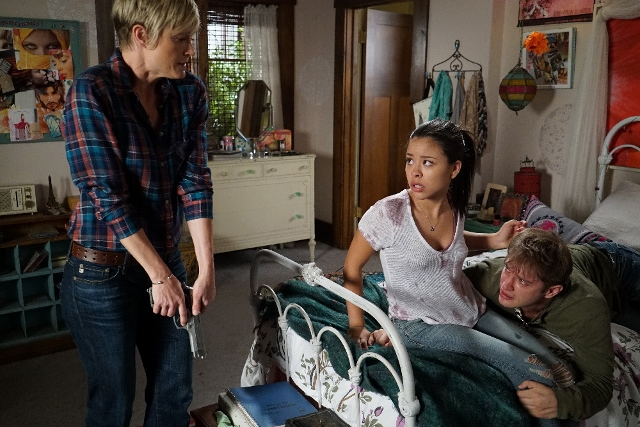 Stef, Mariana and Nick in The Fosters 4x02