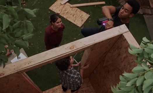 Callie, AJ, Aaron in in The Fosters 4x14