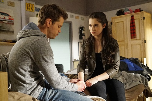 Bay and Travis in Switched at Birth 5x09