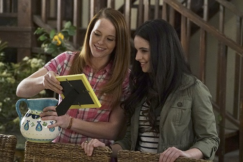 Bay and Daphne in Switched at Birth finale