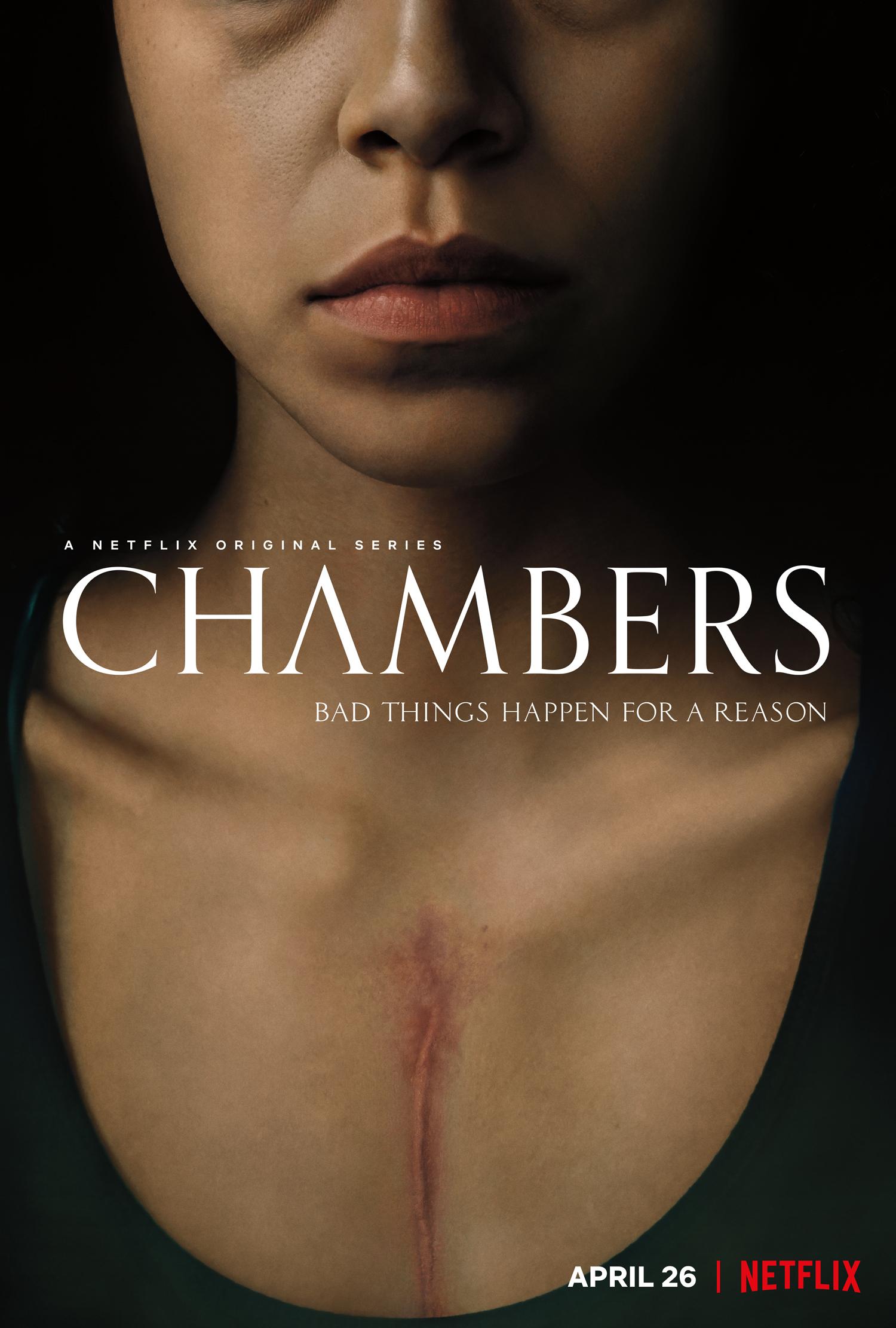 Jonny Rios stars in Netflix series Chambers
