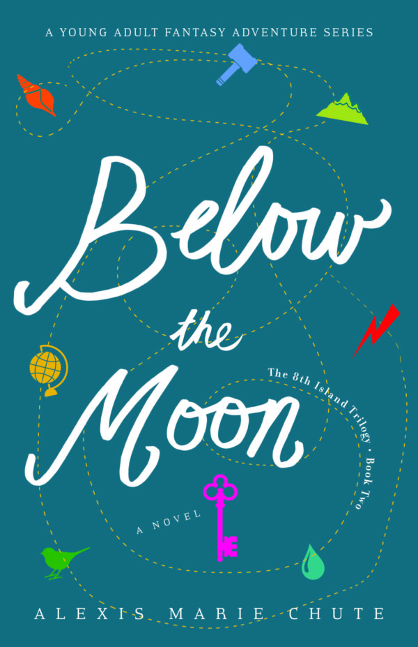 cover art of Below the Moon by Alexis Marie Chute