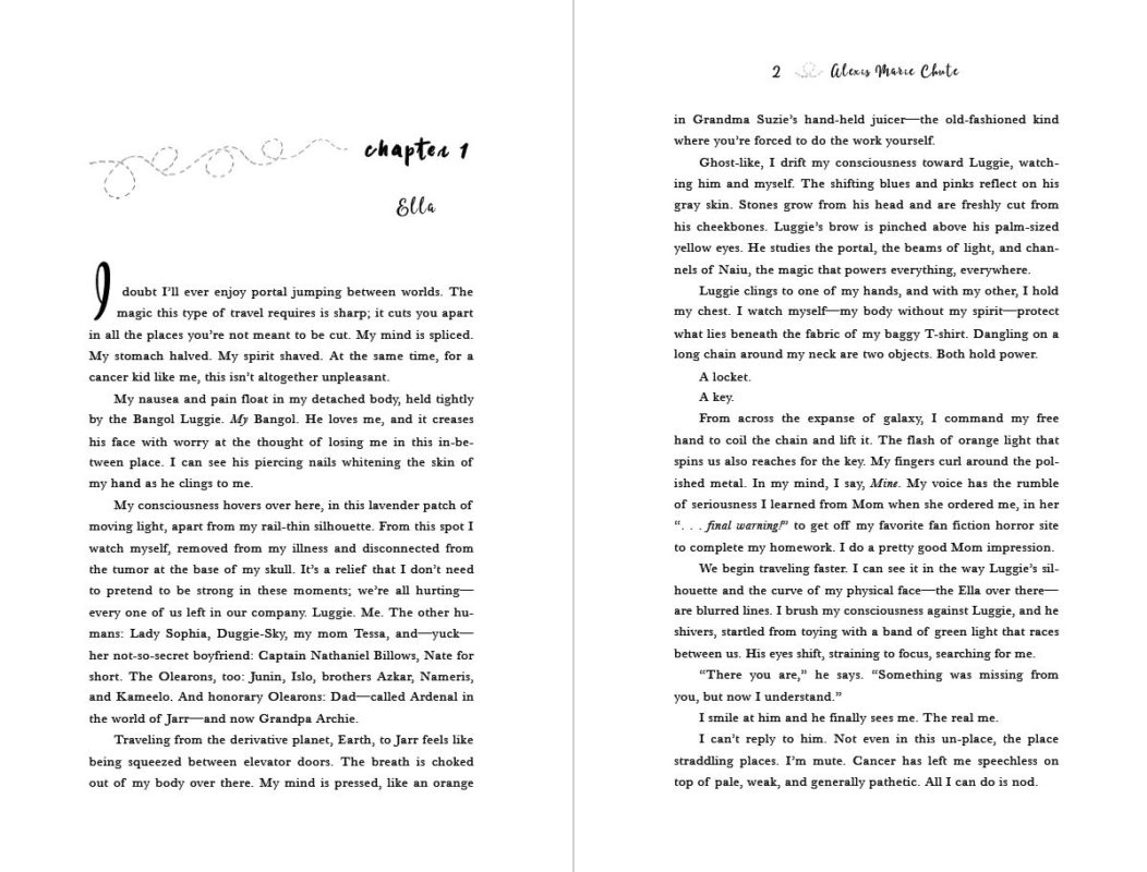 screenshot of the first two pages of chapter 1 of Inside the Sun
