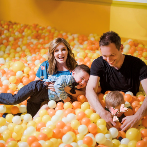 Jen Lilley and Family