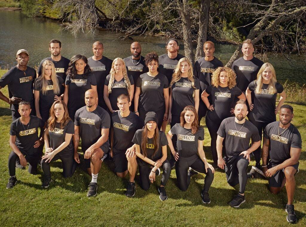 The Challenge All Stars Cast