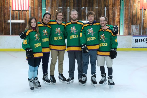 Original Cast of The Mighty Ducks in 'They Mighty Ducks: Game Changers'