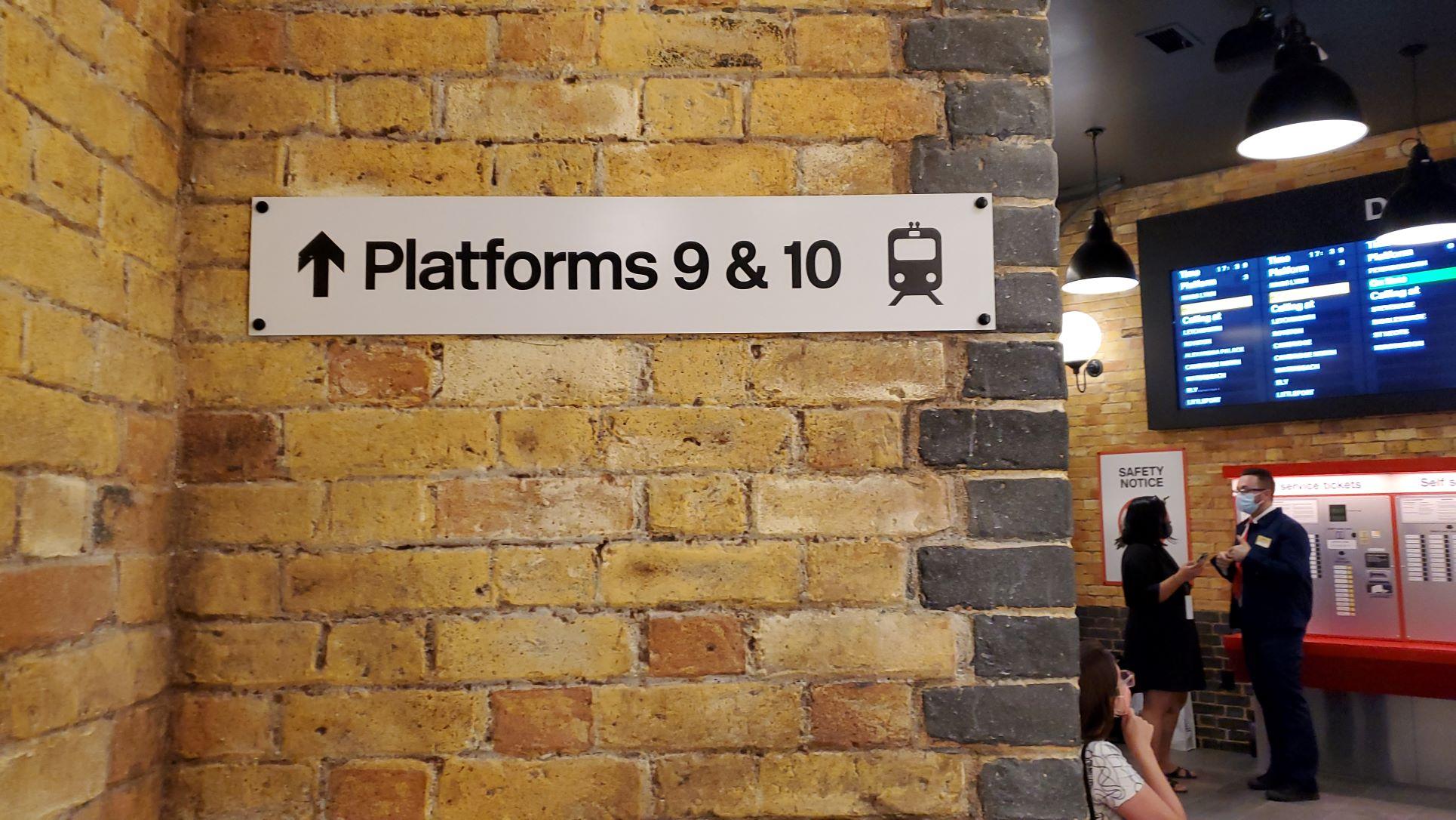 Harry Potter New York King's Cross