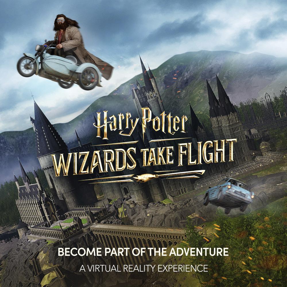 Wizards Take Flight